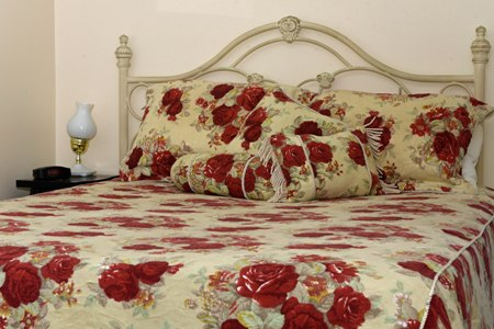 Photo chambre Mlle Smith au gîte Grand-Père Nicole de Val-Brillant